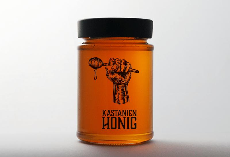 Honigglas von Imkerei Rummel