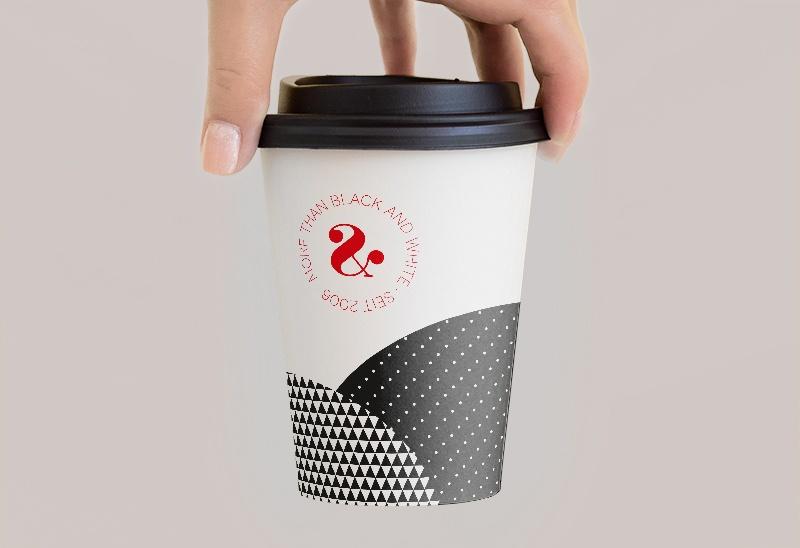 Kaffeebecher mit Verpackungsdesign von Atenton Werbeagentur